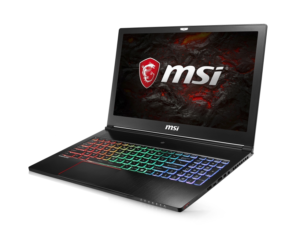 "MSI GS63VR 7RF-226CZ Stealth Pro 4K/i7-7700HQ Kabylake/16GB/512GB SD+1TB HDD 5400 ot./GTX1060 6GB/15.6"" UHD/Win10"