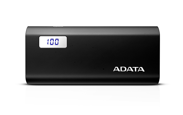 ADATA P12500D Power Bank, 12500mAh, černá