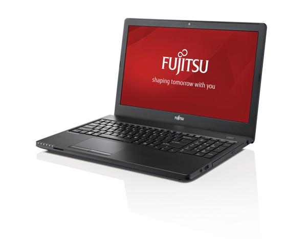 FUJITSU NB LB A555 15.6 HD i3-5005U 8GB 256-SSD DVD W10P