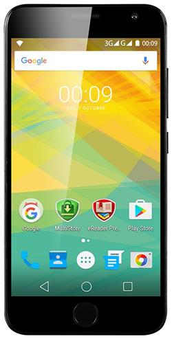 """PRESTIGIO Grace R7, 5.26"""" HD IPS, Dual SIM, Android 6.0, 1,3GHz QC, 1280*720, 16GB ROM,2GB RAM, 13Mpx, fingerprint,černý"""