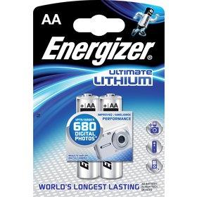1x2 ENERGIZER Ultimate Lithium Mignon AA LR 6 1,5V