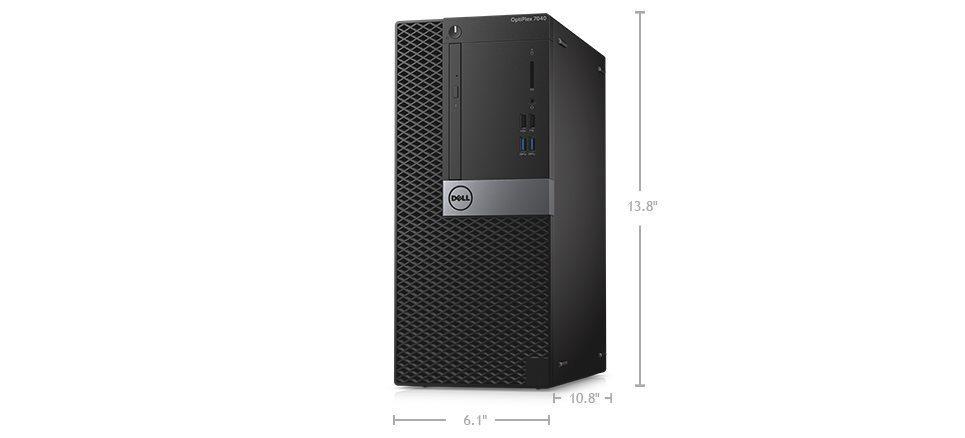 DELL Optiplex 7040 MT/i5-6500/8GB/500 GB/Win 7+10 Pro