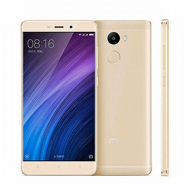 Xiaomi Redmi 4 PRO Gold/ 5´´ FullHD 1920x1080/2GHz OC/3GB/32GB/SD/2xSIM/FP/13MPx/4100mAh