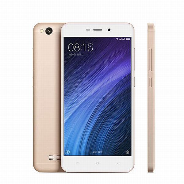 Xiaomi Redmi 4A Gold/ 5´´ HD 1280x720/1,4GHz QC/2GB/16GB/SD/2xSIM/13MPx/3120mAh