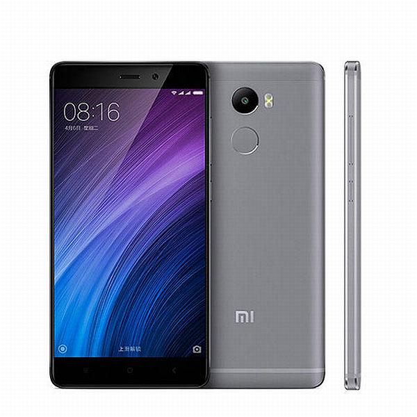 Xiaomi Redmi 4 Black/ 5´´ HD 1280x720/1,4GHz OC/2GB/16GB/SD/2xSIM/FP/13MPx/4100mAh