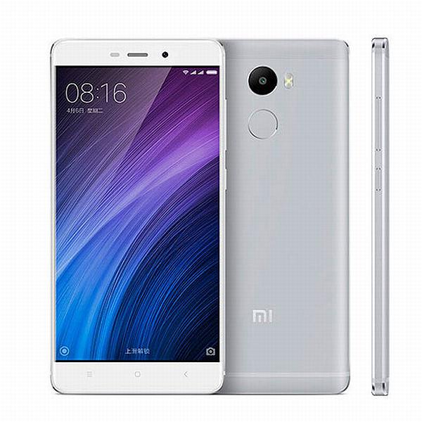 Xiaomi Redmi 4 Silver/ 5´´ HD 1280x720/1,4GHz OC/2GB/16GB/SD/2xSIM/FP/13MPx/4100mAh