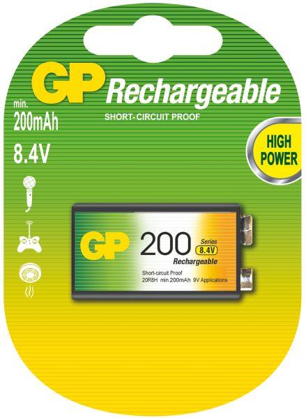 GP 9V 200 Ni-MH