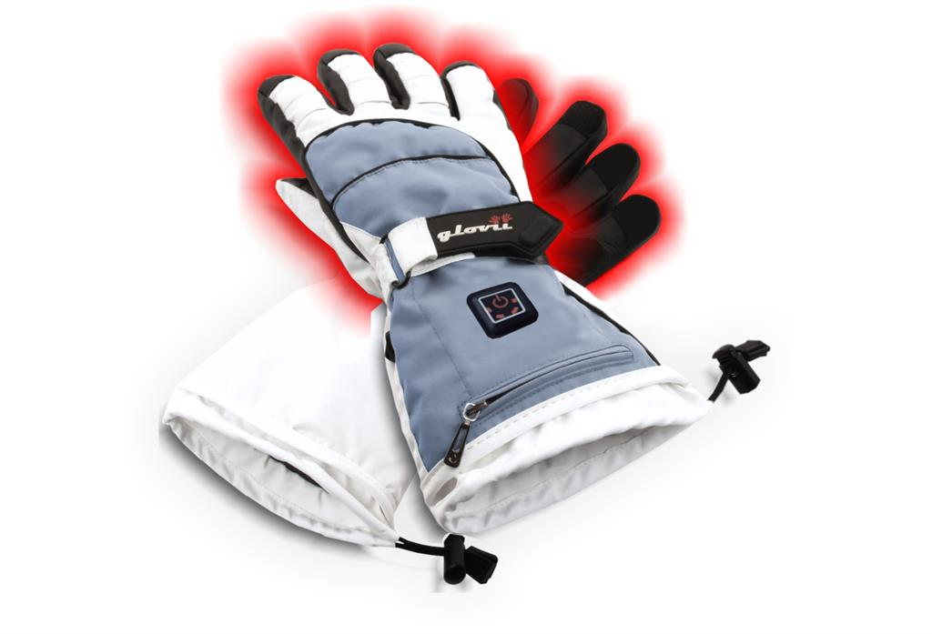 SUNEN Glovii - Vyhřívané lyžařské rukavice, velikost XL