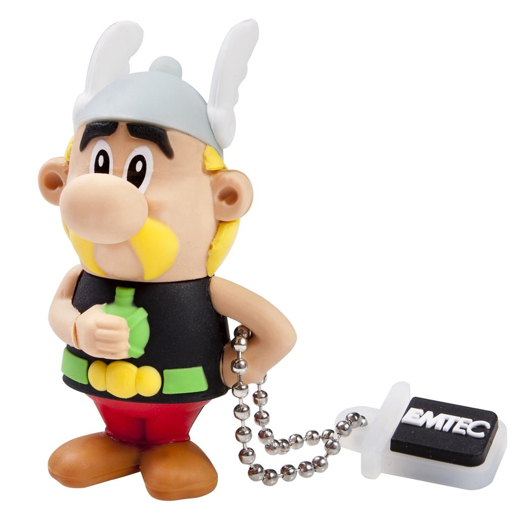 EMTEC Asterix Series AS100 4GB USB 2.0 flashdisk (18MB/s, 8MB/s), Asterix