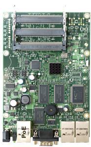 Mikrotik RB433 300 MHz, 64MB RAM, RouterOS L4