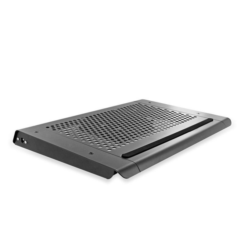 4World Chladicí podložka pro netbooky 7'' - 10.2'', 1 ventilátor, hliník