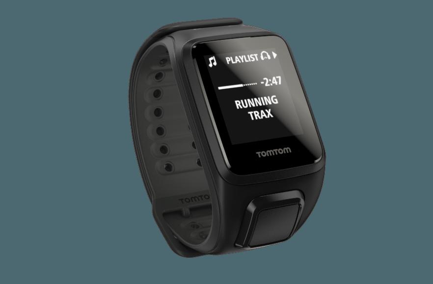 TomTom GPS hodinky Spark Fitness Cardio + Music (L), černá + bluetooth sluchátka