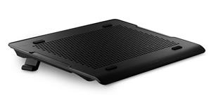 """Coolermaster chladicí ALU podstavec A200 pro NTB do 16"""" black, 2x14cm fan, USB hub"""
