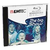 Emtec disc Blu ray BD-R 25GB 1-6x Jewel Case box (5)