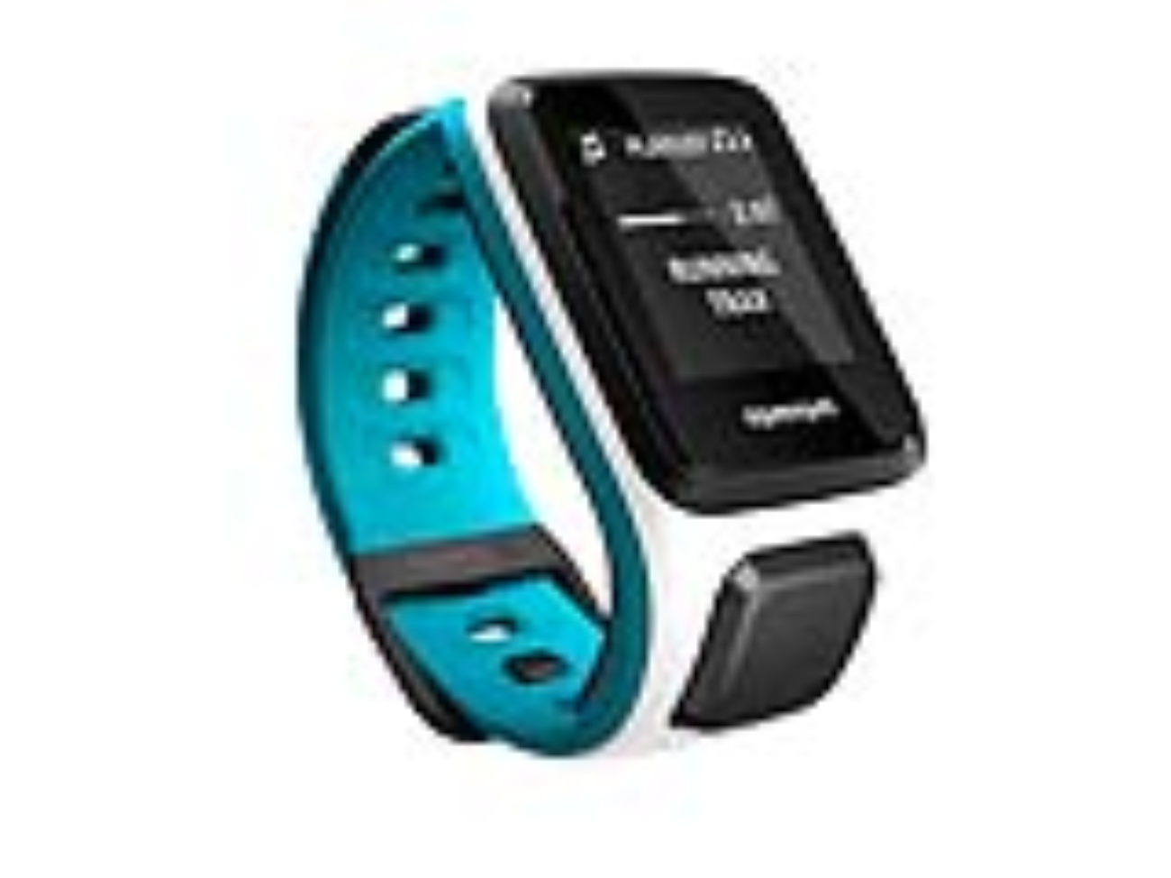 TomTom GPS hodinky Runner 2 Cardio + Music (S), bílá/modrá