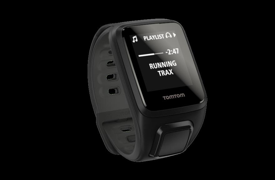 TomTom GPS hodinky Spark Fitness Cardio + Music (S), černá + bluetooth sluchátka