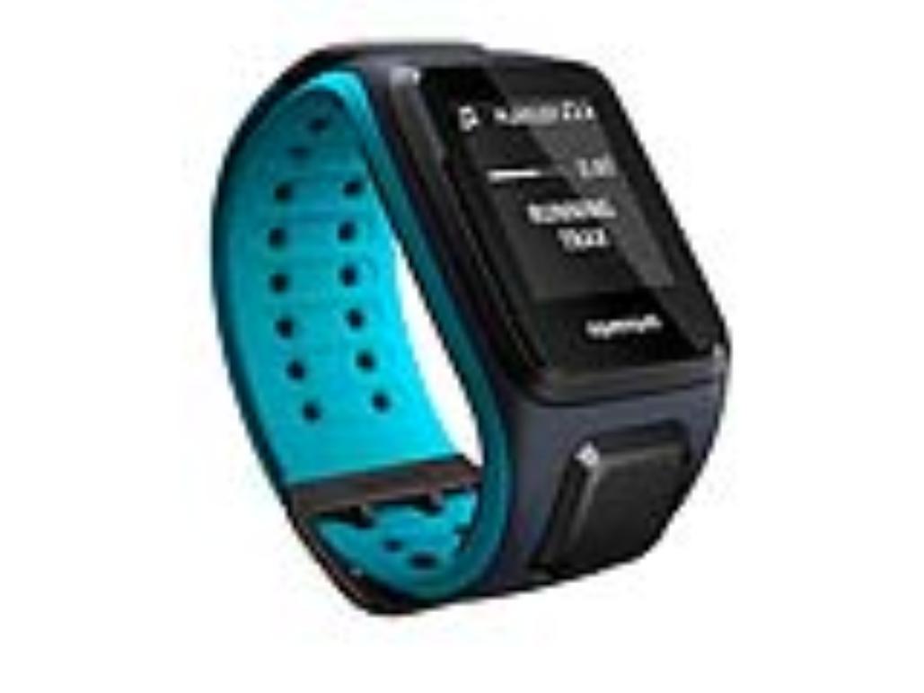 TomTom GPS hodinky Runner 2 Music (L), modrá/modrá + bluetooth sluchátka