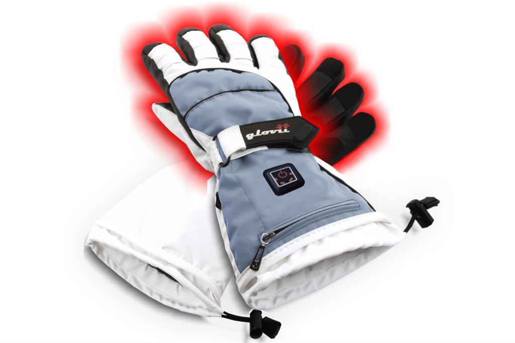 SUNEN Glovii - Vyhřívané lyžařské rukavice, velikost S