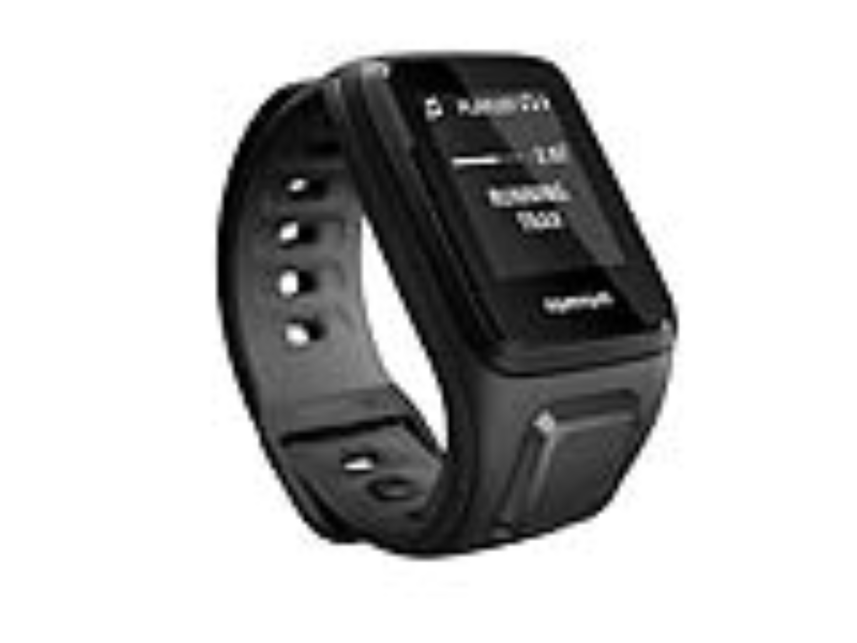 TomTom GPS hodinky Runner 2 Cardio + Music (S), černá/antracit + bluetooth sluchátka