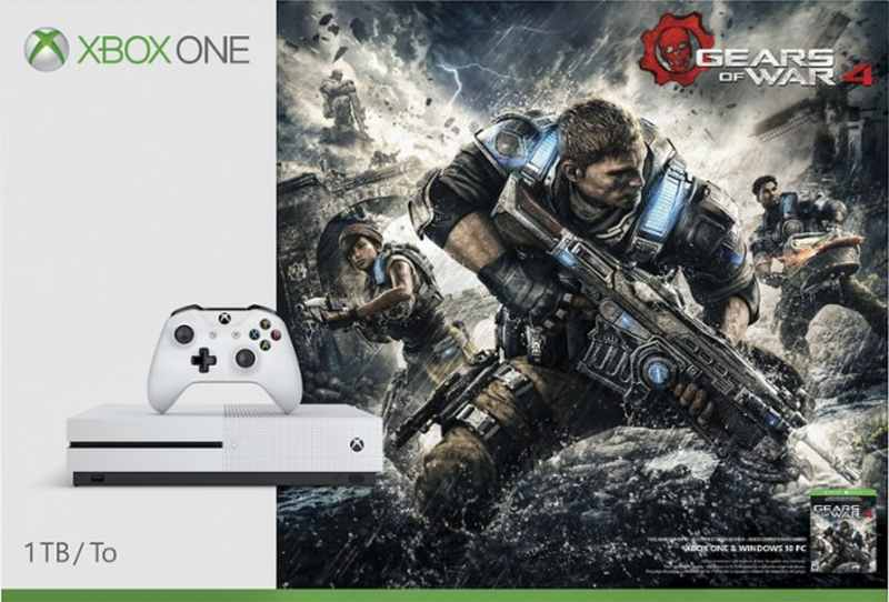 XBOX ONE S - 1TB + Gears of War 4
