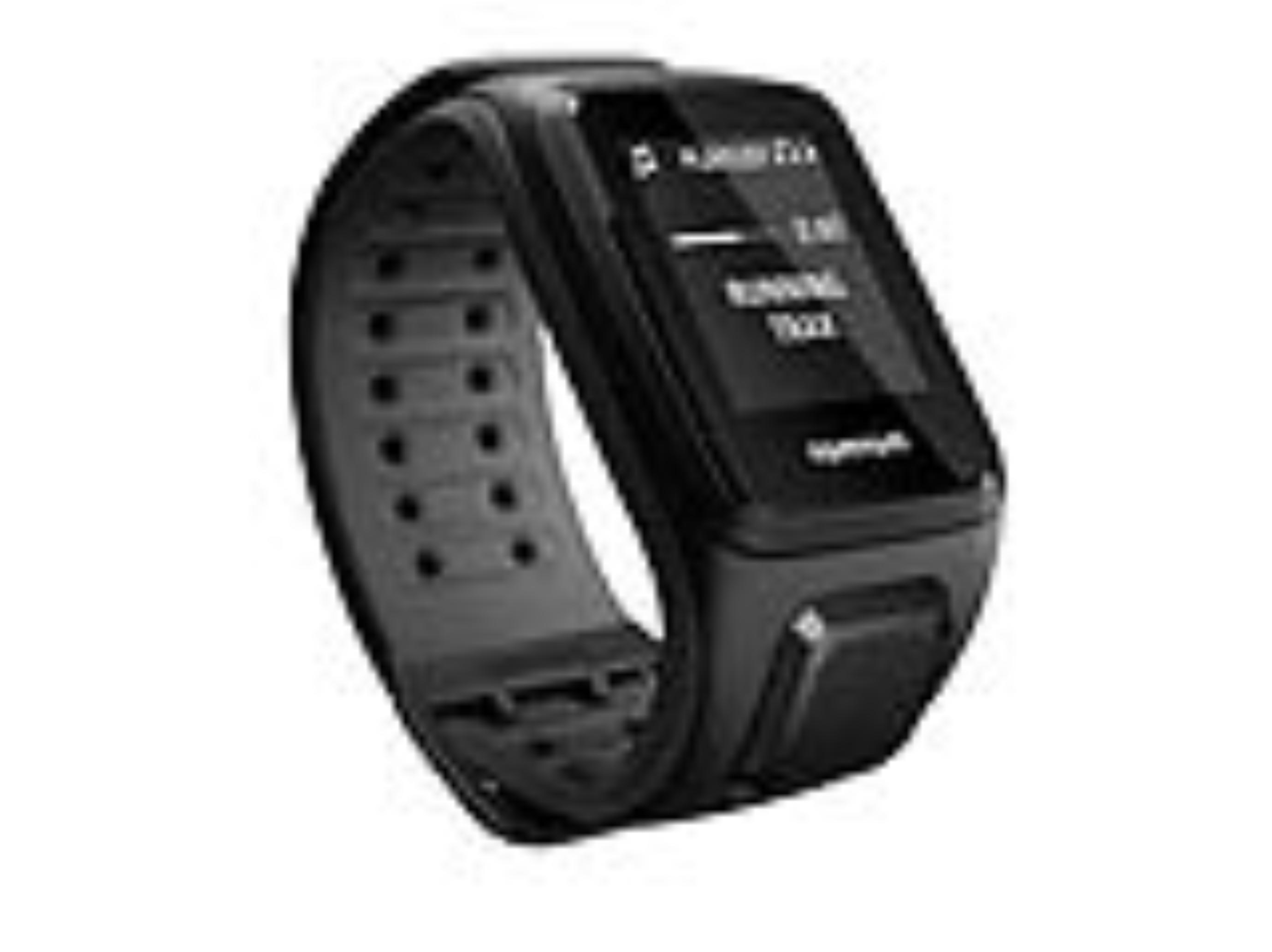 TomTom GPS hodinky Runner 2 Music (L), černá/antracit