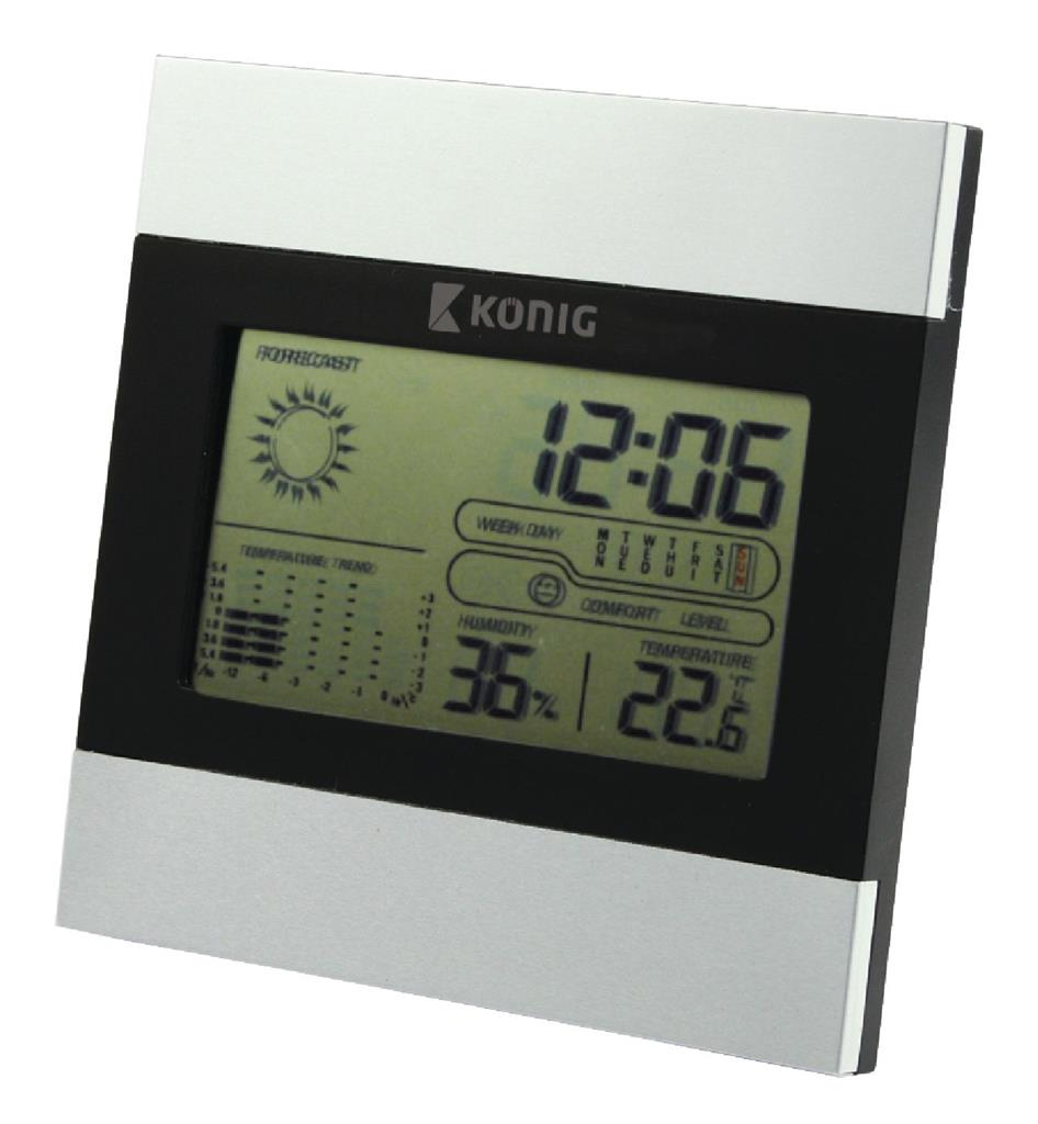 König LCD hodiny / meteostanice