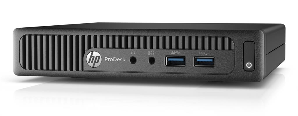HP ProDesk 400G2 DM i3-6100T, 1x4 GB DDR4 SODIMM, HDD 500 GB, Intel HD, usb kláv. a myš , Win10Pro64 DWN7