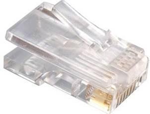 Gembird Eth konektor RJ45 8p8c na UTP kabel Cat 5e, 100 ks