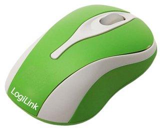 LOGILINK - Mini optická myš k notebooku, zelená