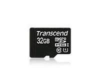 Transcend 32GB microSDHC UHS-I (Class 10) paměťová karta (bez adaptéru)