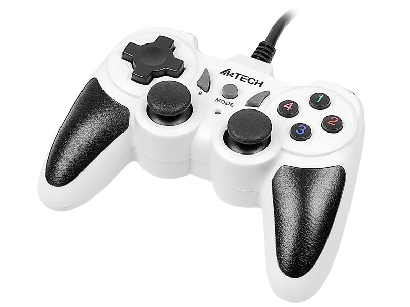 Gamepad A4Tech X7-T4 Snow USB/PS2/PS3