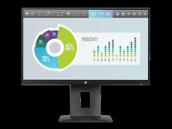 HP Z22n Narrow Bezel IPS Display