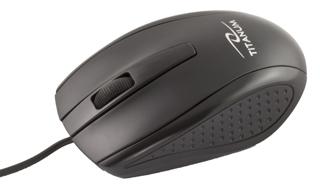 Titanum TM110K MARLIN optická myš, 1000 DPI, USB, blister, černá