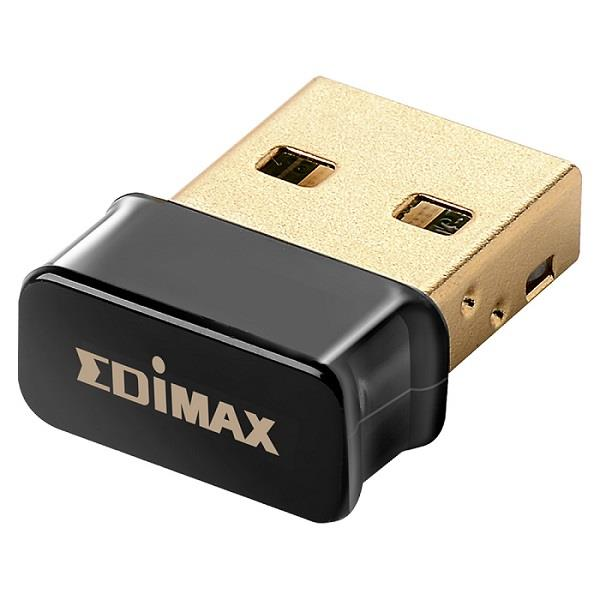 Edimax AC450 802.11ac/a/n 5GHz USB nano adapter, MAC/WIN version; black
