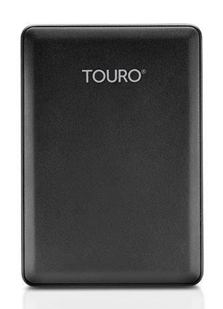 Hitachi Touro Mobile 2.5'' externí HDD 1TB, USB 3.0, černý
