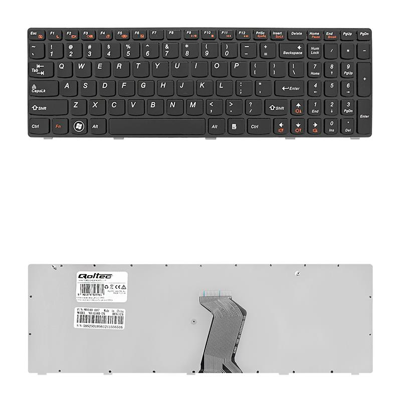 Qoltec Notebook Keyboard Lenovo G580 G580A G585 G585A