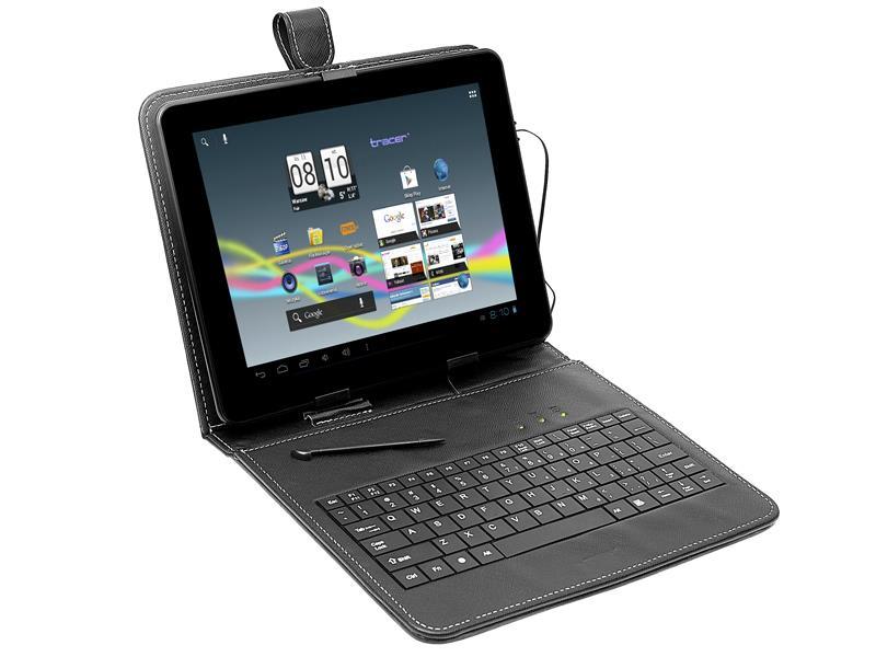 Tracer pouzdro s klávesnicí pro tablet 9,7'' Mini USB
