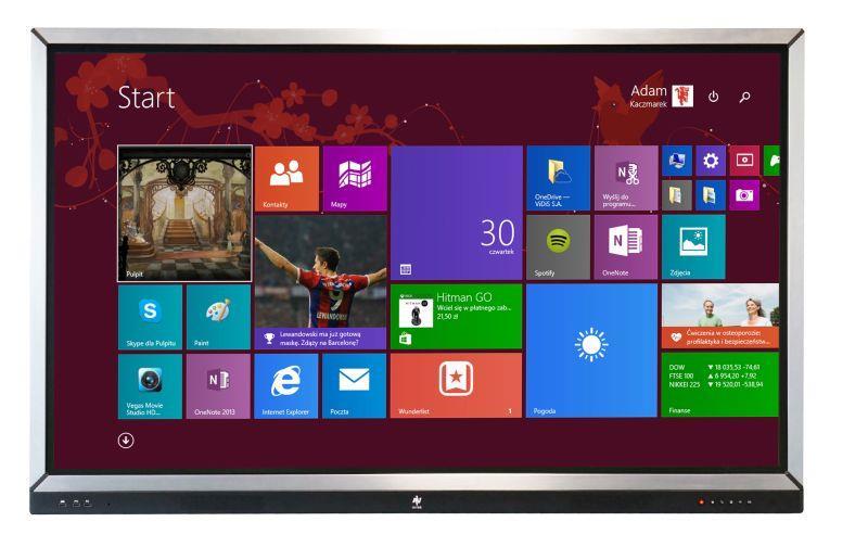 Avtek interaktivní displej Touchscreen 65 Pro (LED,65'',Full HD,10-bodový dotyk)