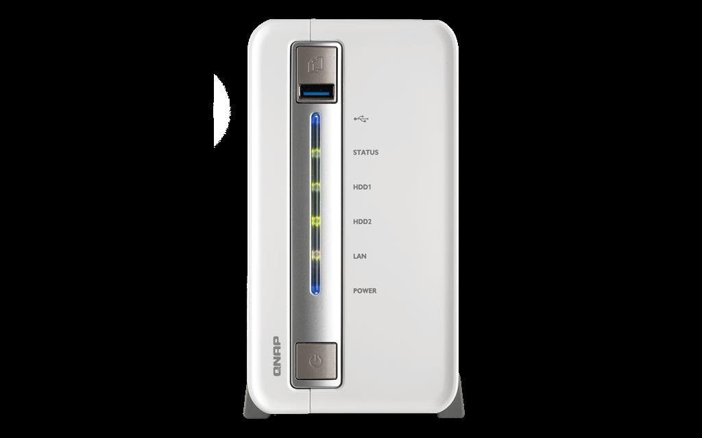 QNAP TS-251C Compact 2x 3.5 SATA Celeron 2.41 DC 1GB 1xGlan