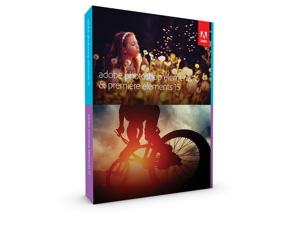 Photoshop Elements / Premiere Elements 15 WIN ENG FULL Box