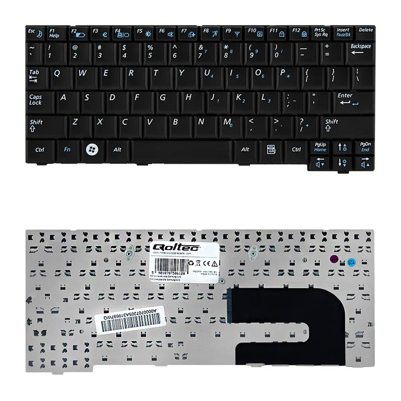 Qoltec Notebook Keyboard for Samsung NC10 NC110 NC120