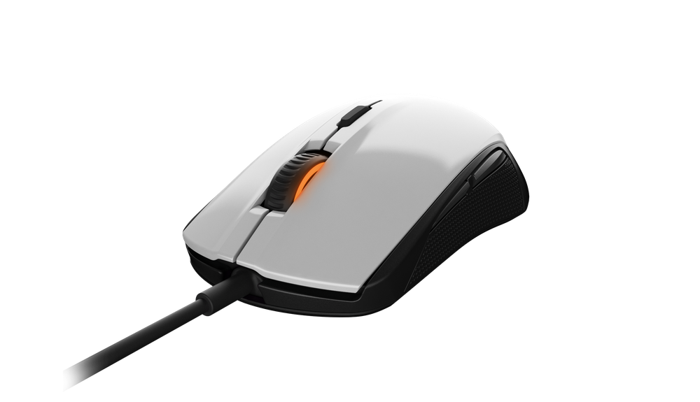 Gaming mouse SteelSeries Rival 100, white