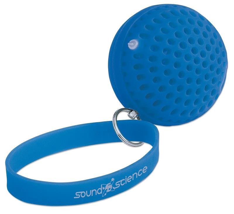 Manhattan Sound Science Atom přenosný bluetooth reproduktor, modrý