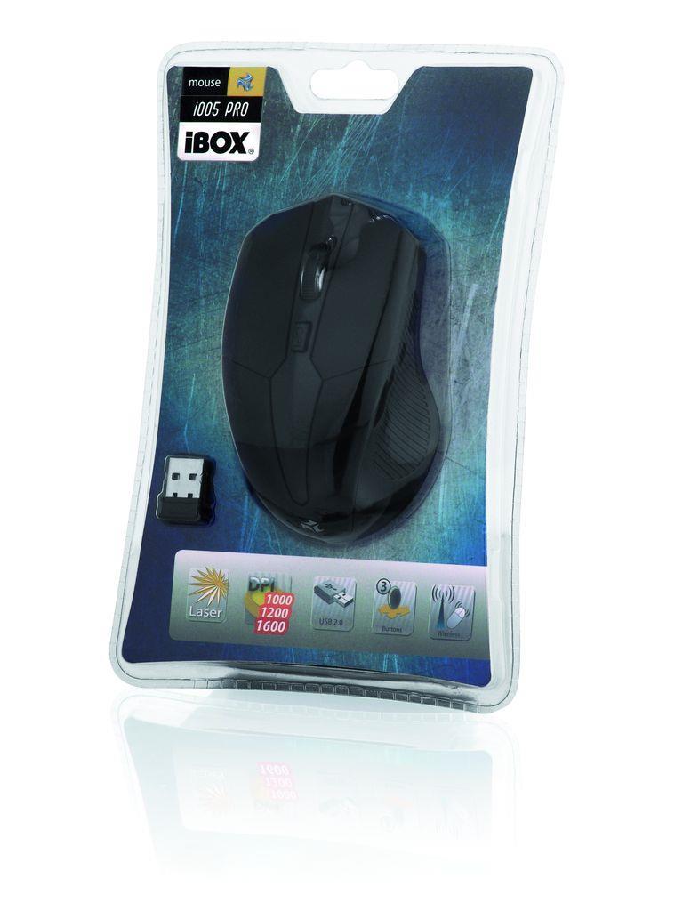 I-BOX i005 PRO LASER MOUSE WIRELESS