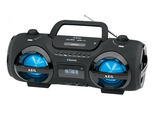 Přehrávač AEG SR 4359 BT (CD/MP3/AUX/SD)