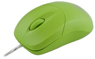 Titanum TM109G AROWANA optická myš, 1000 DPI, USB, blilster, zelená