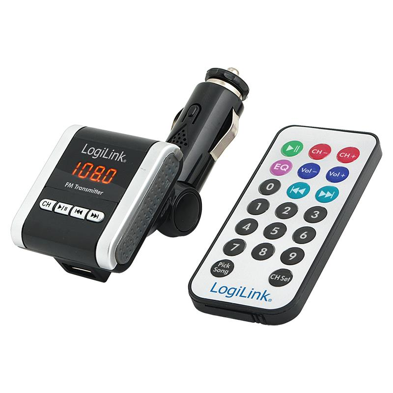 LOGILINK - FM Transmitter s přehrávačem MP3