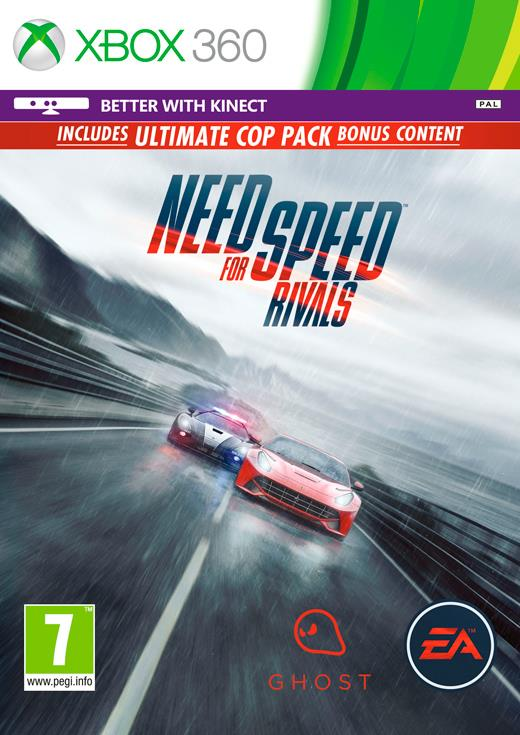 NEED FOR SPEED RIVALS Xbox360 CZ/SK/HU