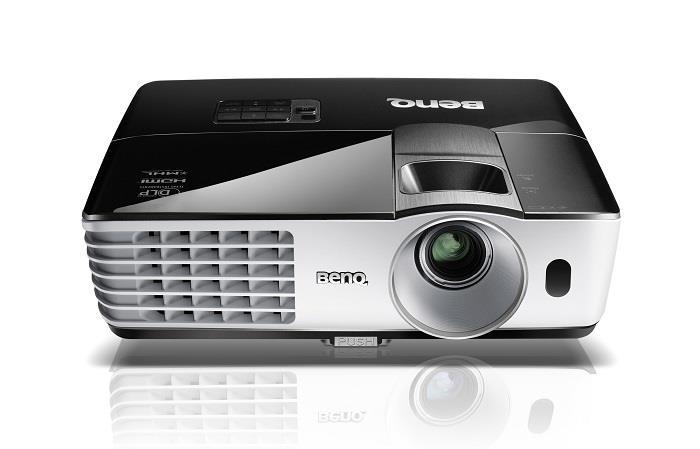BENQ Dataprojektor MX666+ (XGA, 3500ANSI,13 000:1, HDMI, USB reader, USB display,10W speaker)+ wifi dongle (NFC)