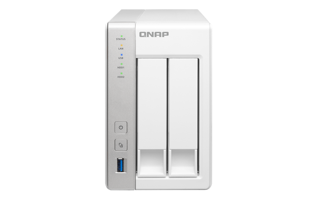 QNAP TS-231 (1.2GHz, 512MB RAM, 1x LAN, 2x SATA)
